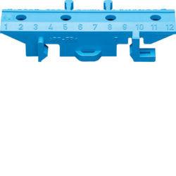 KZ012 - Base azul p/barramento HAGER EAN:3250613960124