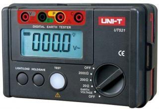 Medidor de Terra UT521 UNI-T