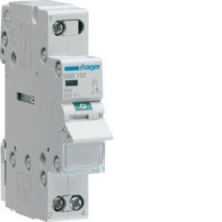 SBB132 - Interruptor Mod. c/Ind. luminoso 1P 32A HAGER EAN:3250615511690