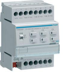 TXM646R - Actuador aquec. 6c + reg. 24/230V HAGER EAN:3250618502046