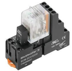 Weidmuller DRMKIT 24VDC 4CI LD/PB - c/LED+botão teste(base 3 pisos) 1542510000