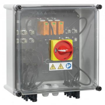 Weidmuller PVN1M1I3S0F3V1O1TXPX10 - 1 MPPT 3 IN / 3 OUT com fusível c/ secc. 302x302x175 mm 2683090000