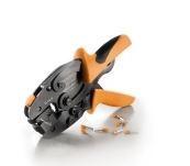 Weidmuller PZ 6 ROTO L-Ferramenta para cravar ponteiras de 0,14...6 mm2. Matriz giratória 900 com travamento 1444050000