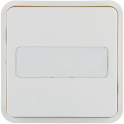 WNT922B - Tecla 1x Cubyko KNX c/ porta-etiq, br HAGER EAN:3250617178754
