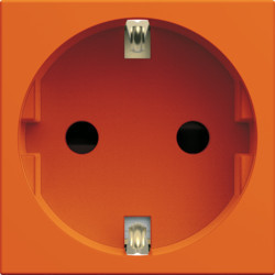 WXF160E - gallery 2M Tomada Schuko, laranja HAGER EAN:3250617191685