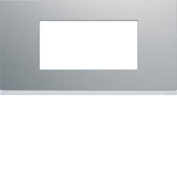 WXP0104 - gallery 4M Quadro horizontal, alumínio HAGER EAN:3250617199216