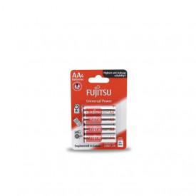 009000002 - 4976680863005 Pilha Alcalina FUJITSU LR-6 (AA), Blister 4 Unid.