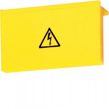 01 - KZ058 - 3250613960582 Jogo 10 tampas de protec. p/disj. motor HAGER