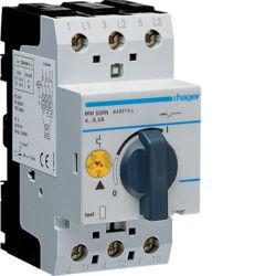 01 - MM509N - 3250614435225 Disjuntor motor 4-6A 2,5M HAGER