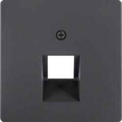 14076086 - Q.x - espelho RJ45 simples, antrac BERKER EAN:4011334379584