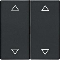 16446086 - Q.x - tecla dupla 4 setas, antracite BERKER EAN:4011334380252