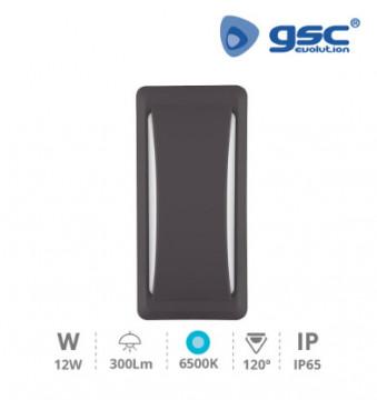 200205048 - Aplique parede Anthe 12W 6500K IP65 Gris antracite