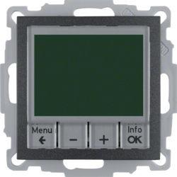 20441606 - S.1/B.x - termóst. programável, antrc mt BERKER EAN:4011334354673