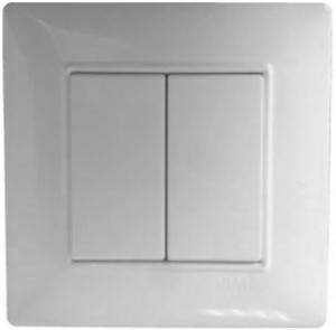 2213226.2BR - Comando Parede 2 botoes Branco S/Pilha CASAMBI - Quant. fornecida = 1 un