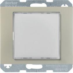 29527004 - K.1/K.5 - Sinaliz. LED verde/enc, inox BERKER EAN:4011334414568