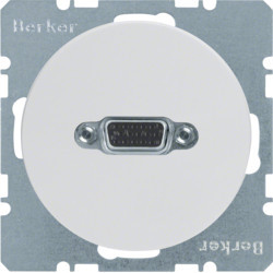 3315412089 - R.1/R.3 - tomada VGA paraf., branco BERKER EAN:4011334367192