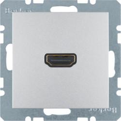 3315421404 - S.1/B.x - tomada HDMI, alumínio mate BERKER EAN:4011334330523