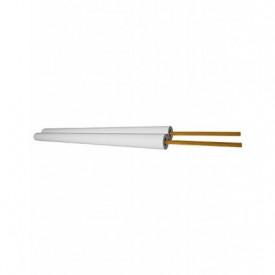 3902939 - 8433373029392 Rolo de cabo paralelo de 100M (2x0.75mm) Branco