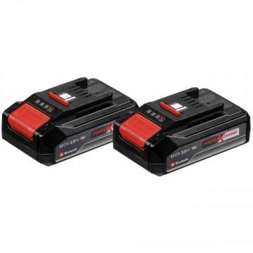 4511518 - Einhell Kit Twinpack2,5 Ah 18V Power X-Change EINHELL