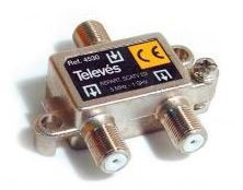 "4530 -8424450045305 TELEVES - Repartidor Interior (5-1000MHz) 2D ""F"" 4dB"