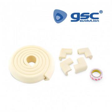 500070009 - Pacote de rolos 2M para bordas e 4 protetores de canto de espuma 8433373016507