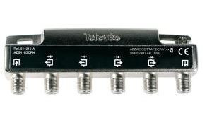 "514210 -8424450168363 TELEVES - Derivador Interior (5-2400MHz) 4D ""F"" 16dB ""DC Pass All"" Tipo A (piso 2, 3)"