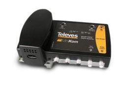 537302 -8424450144183 TELEVES - Amplificador Linha Minikom MATV 1e/1s G.30/37dB Vs.114/116dBµV (Baixa Potência)