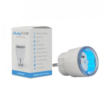 ShellyPlugS - Tomada inteligente com Wi-Fi com medidor de consumo.
