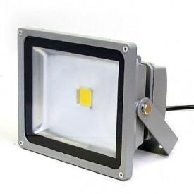 Projetor LED 4ª Geração MultiChip 50W Branco Frio