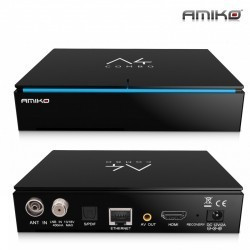 AMIKO A4 RECEPTOR SATÉLITE & MEDIA PLAYER ANDROID ULTRA HD 4K DVB-S WIFI