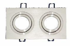 Aro quadrado móvel duplo alumínio