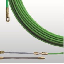 BAAS 790013 Guia Passa Cabos Baas Aço Flexível Reforçado Coberto a Nylon 76 Ponteira Intercambiável 4mm 13M