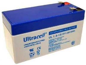 Bateria Chumbo 12V 1,3Ah (97x43x52 mm) - Ultracell