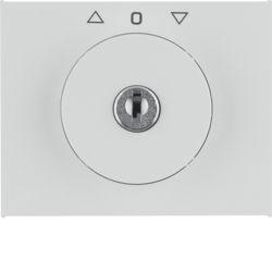 BERKER - 1079730900 - K.1/K.5 - bot.rot. chave estores, branco 23