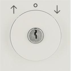 BERKER - 1081898200 - S.1/B.x - int.rot. chave estores, creme 23