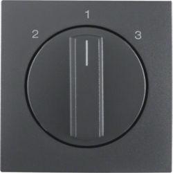 BERKER - 1084160600 - S.1/B.x - botão rotativo 2-1-3, antr mt 23