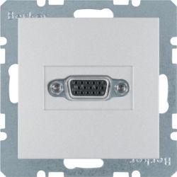 BERKER - 3315401404 - S.1/B.x - tomada VGA, alumínio mate 23