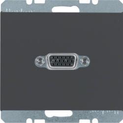 BERKER - 3315407006 - K.1/K.5 - tomada VGA, antrc mt 23