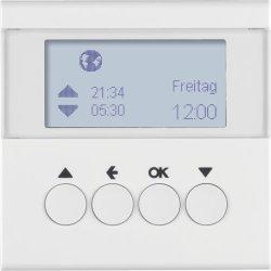 BERKER - 85741189 - S.1/B.3/B.7 - prog. horário est, branco 25