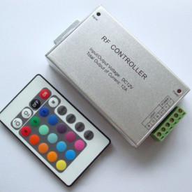 Controlador RGB 12V 144W c/ comando