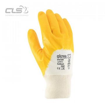 Equipamentos de Protecção - 5770 - Luva Interlock Revestida Nitrilo Fino 8 Amarelo