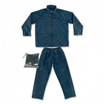 Equipamentos de Protecção - 6001 - Fato Impermeável Nylon Calça + Casaco L Azul Marinho