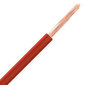 Fio H05V-K 1MM2 flexível vermelho PREÇO POR METRO
