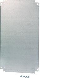 FL404A - Platina metálica a.350 l.300 HAGER EAN:3250610671399