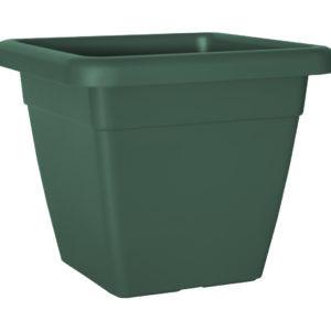 HORTA E JARDIM - 2514 - Vaso Venezia Quadrado 45cm Verde Escuro Artevasi