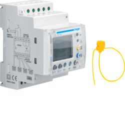 HR534 - Relé dif. 0,03-30A digital 4 canais 3M HAGER EAN:3250613281359