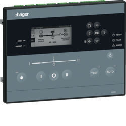 HZI855 - Controlador aut. p/disjuntores HAGER EAN:3250613362287