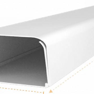 JSL Calhas e Acessórios Calha de cantos arredondados 100x60 para cabos -