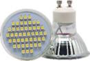 LAGU1040120FD - LÂMPADA LED GU10 4W 120º SMD BR. FRIO 6500K OMNIUM ELECTRIC
