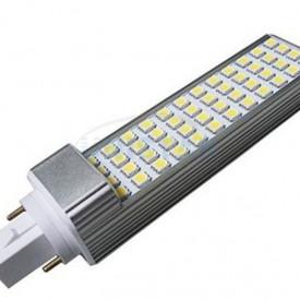 Lâmpada LED PLC SMD G24 11W Branco Quente